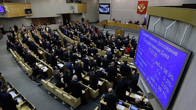Rusia puede dejar de invertir en los países que le sancionan