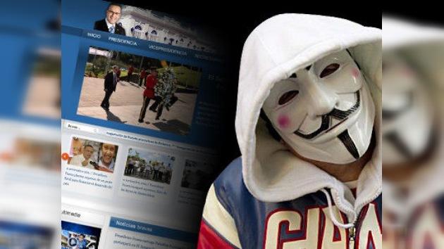 Anonymous 'hackea' páginas web del Gobierno de El Salvador