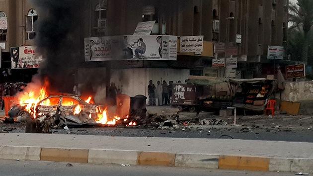 Un triple atentado terrorista deja 23 muertos cerca de Bagdad