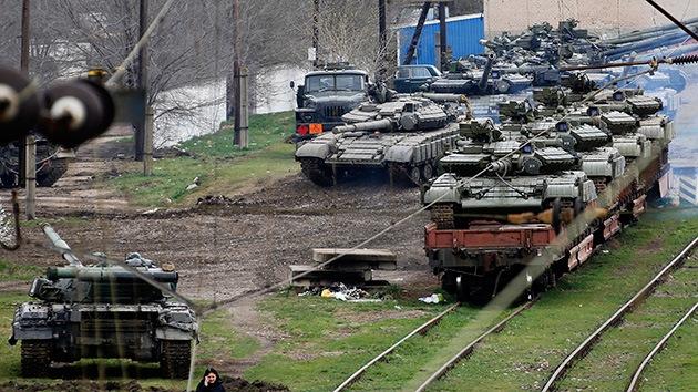 Rusia retiene la entrega a Kiev de técnica militar del ejército ucraniano en Crimea