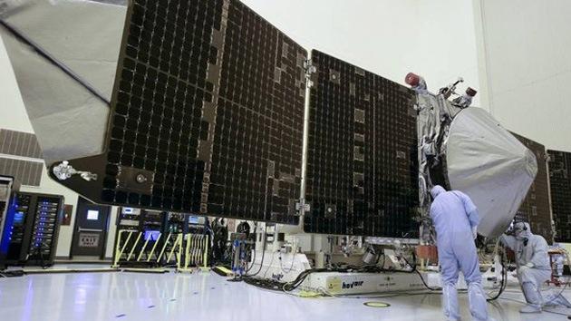 Enigmas marcianos: La sonda Maven de la NASA, lista para escrutar el planeta rojo