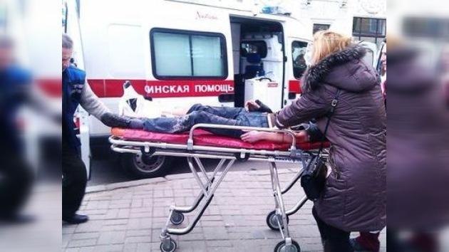 Potente explosión sacude el metro de Minsk