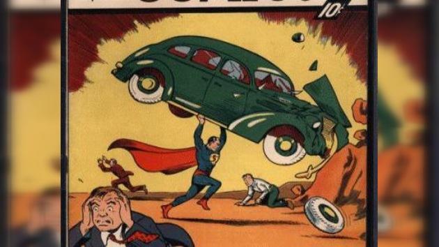 La primera revista de Superman se vende por 1.000.000 dólares