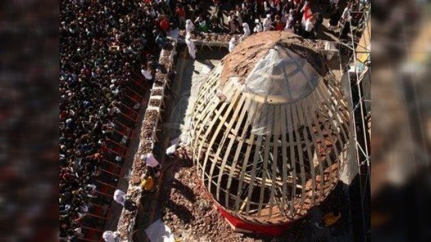 Argentina celebra la Pascua con un huevo de chocolate de 7,5 toneladas de peso