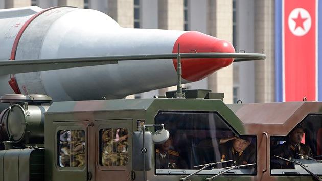 Corea del Norte vuelve a lanzar misiles de corto alcance desde su costa este