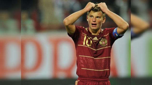 Rusia pierde ante Eslovaquia en las eliminatorias para la Euro 2012