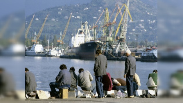 Los puertos marítimos de Georgia, centros de tránsito de drogas a Rusia