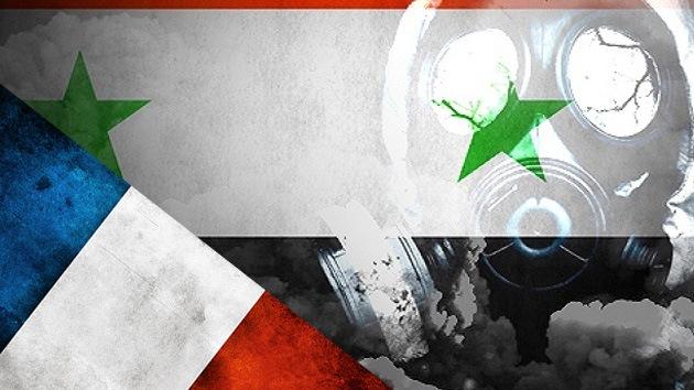 Francia urge a Siria a destruir inmediatamente sus arsenales químicos