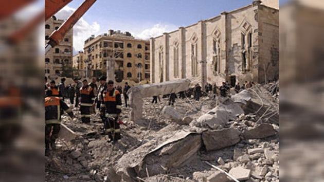 Una serie de explosiones sacuden el bastión de los insurgentes sirios