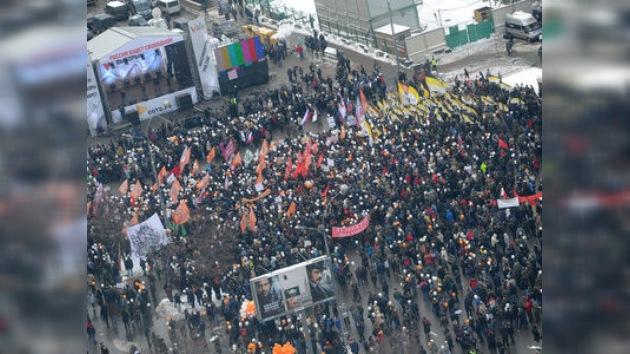 La oposición rusa vuelve a protestar contra los resultados de las parlamentarias
