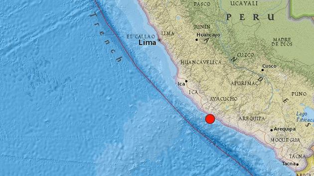 Un fuerte terremoto de 7,0 sacude Perú