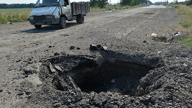 Autodefensas: El Ejército ataca Lugansk con misiles balísticos Tochka-U