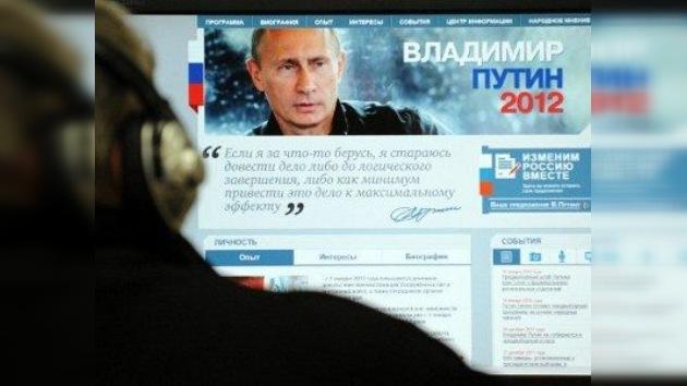 Putin 'rompe el hielo' de la carrera presidencial