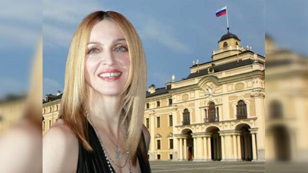 Madonna va a casarse en San Petersburgo