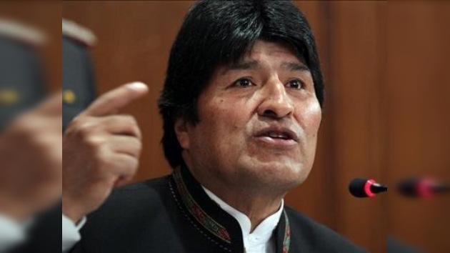 Morales amenaza con una huelga de hambre por la Ley de Autonomías
