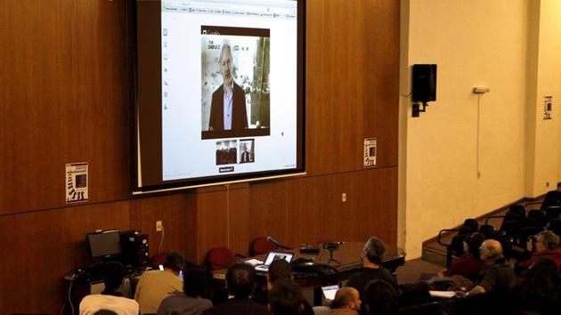 """Assange: """"EE.UU. pone en riesgo la soberanía en América Latina"""""""