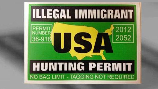 """Tiendas de EE.UU. emiten licencias para """"cazar inmigrantes ilegales"""""""