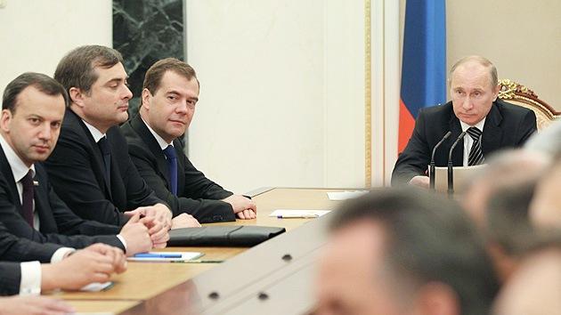 Rusia anuncia la composición de su nuevo Gobierno