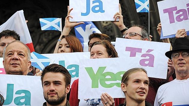 Minuto a minuto: Escocia decide su futuro