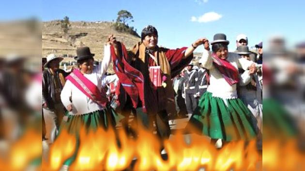 Evo Morales se purificará con fuego para afrontar su nuevo mandato