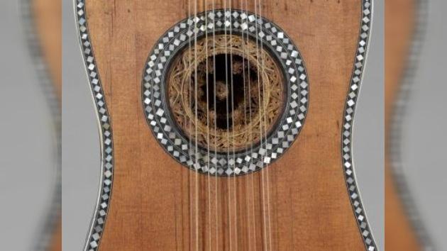 La 'melodía visual' de las guitarras se expone en Nueva York
