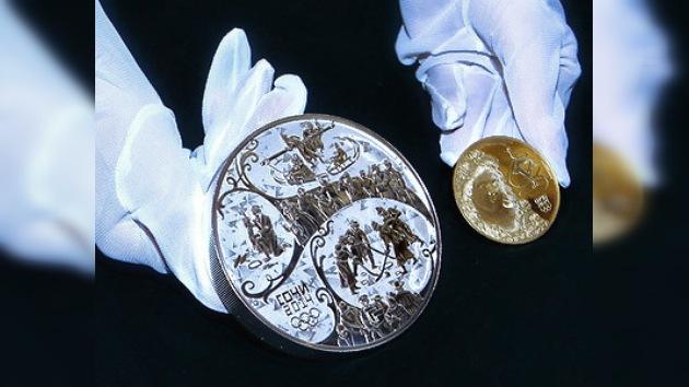 Rusia lanza monedas de colección conmemorativas de Sochi 2014