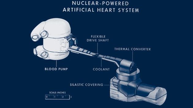 EE.UU. intentó crear un corazón artificial con un motor atómico