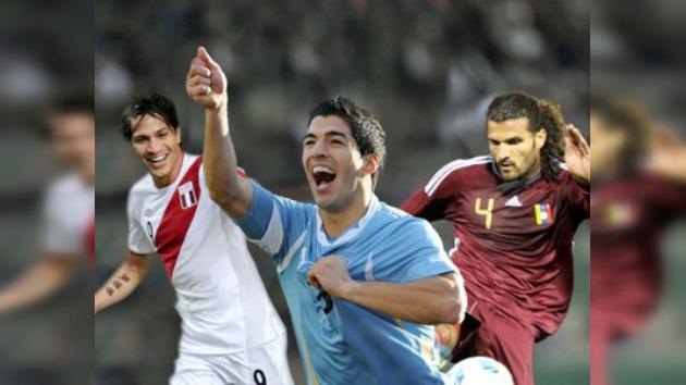 Uruguay, Perú y Venezuela, mejor que nunca en el 'ranking' de la FIFA