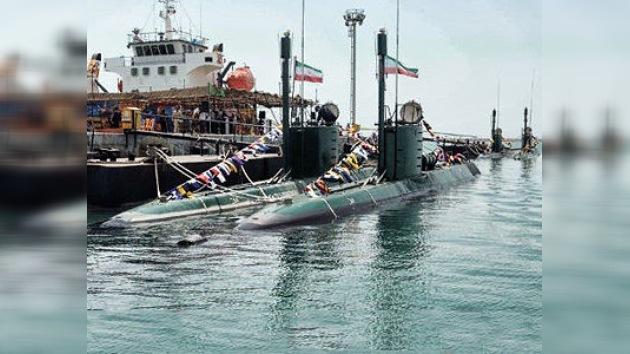 Irán refuerza su flota con tres submarinos 'invisibles'