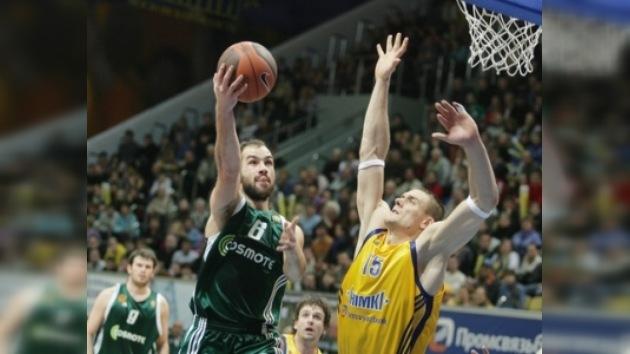 El Jimki no pudo con el Panathinaikos en la Euroliga de baloncesto
