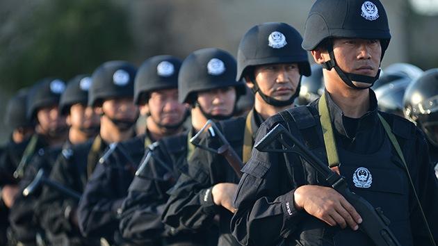 """La policía china mata a """"varios terroristas"""" en Sinkiang"""