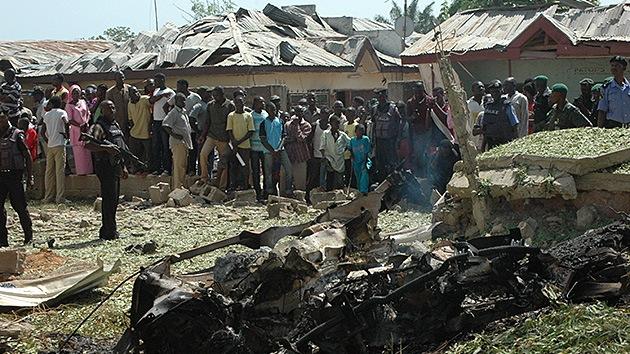 Fotos: Un brutal atentado suicida contra una iglesia nigeriana deja al menos diez muertos