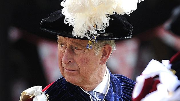 El príncipe Carlos, descendiente del conde Drácula