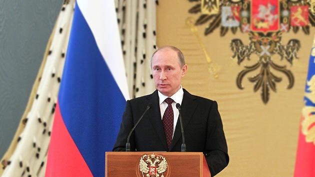 """Putin: """"Las relaciones interestatales importan más que las disputas entre servicios especiales"""""""