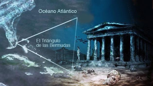¿Es la Atlántida?: Confirman la existencia de una ciudad en el Triángulo de las Bermudas