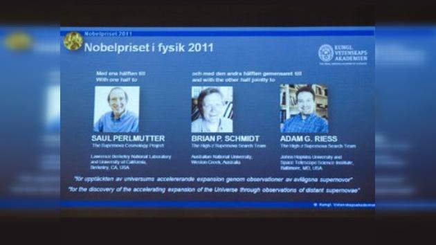 Nobel de Física para tres científicos que descubrieron la expansión acelerada del Universo
