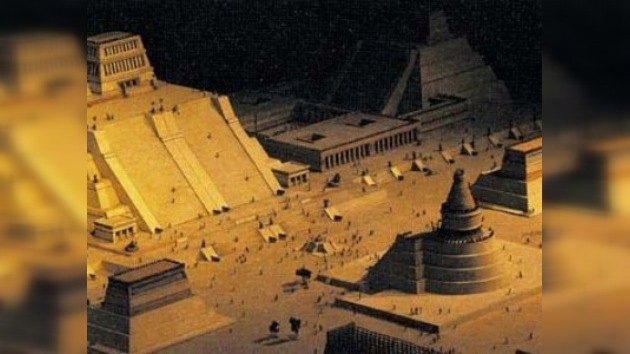 Hallados los restos del templo del dios azteca del viento