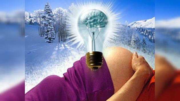 Los científicos rusos recomiendan dar a luz en invierno