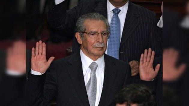 El ex dictador guatemalteco Ríos Montt queda bajo arresto domiciliario