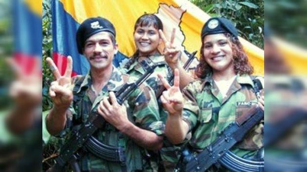 Detenida la guerrillera imagen de la propaganda de las FARC