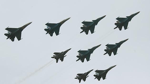 Moscú: Los aviones rusos no han entrado en el espacio aéreo de Ucrania