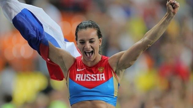 Isinbáyeva, mejor atleta de Europa