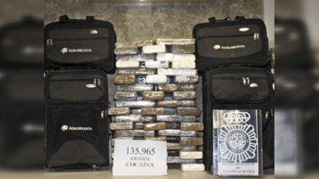 140 kilos de cocaína fueron incautados en Madrid
