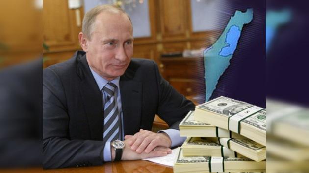 Rusia prestará a Palestina 10 millones de dólares para ayuda humanitaria