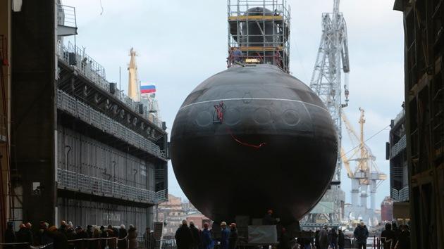Rusia bota el cabeza de serie de los submarinos para defensa del litoral
