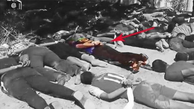 Un soldado iraquí sobrevive a una masacre del Estado Islámico fingiendo su muerte