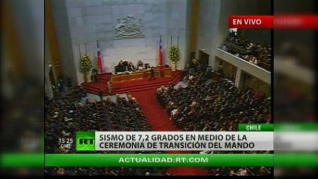 Nuevo terremoto de 7.2 grados acompaña la investidura de Piñera en Chile