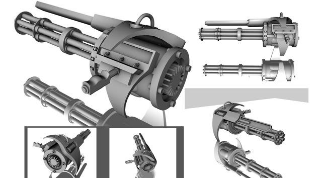 Un nuevo Kaláshnikov con seis cañones giratorios saldrá al mercado en 2015