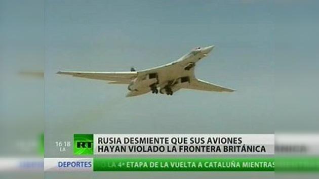 Rusia desmiente que sus aviones hayan violado la frontera británica