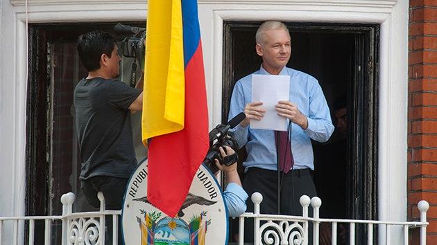 Assange airea su plan de batalla para 2013 en un 'discurso navideño'
